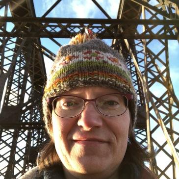 Anna on bridge