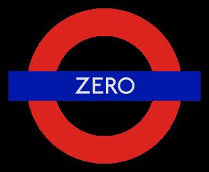 London Underground station 'Zero'