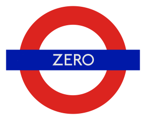 London Underground station 'Zero'