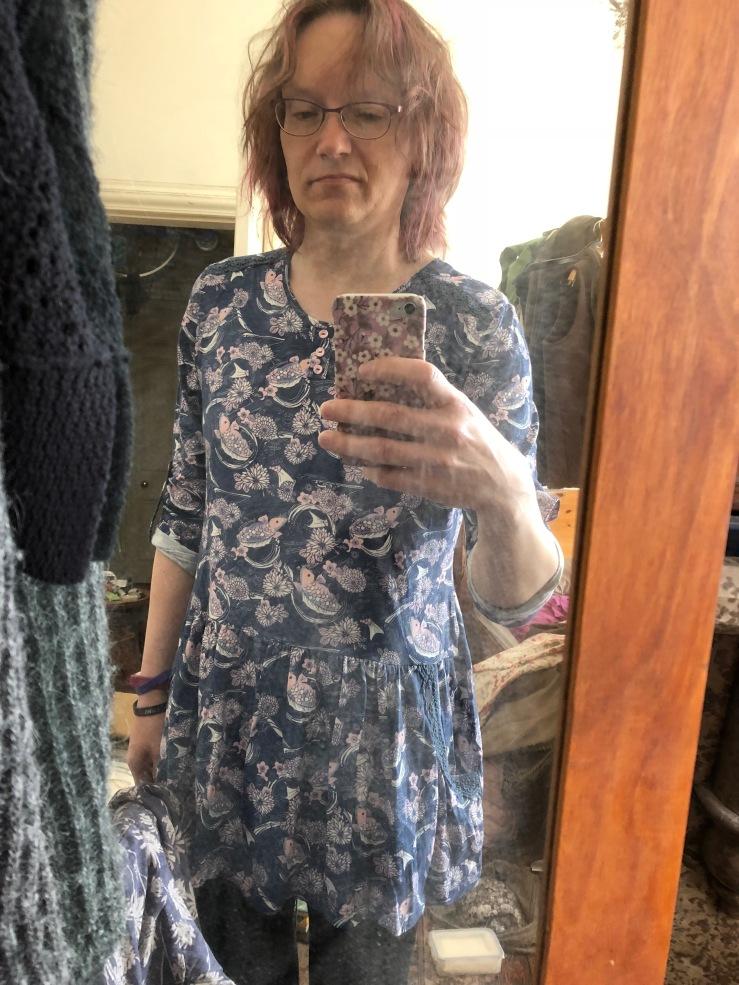Mirror selfie, new tunic