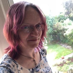 Anna at window